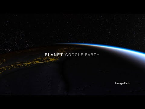 Planet Google Earth Real HDR [4K] | Google Earth Studio