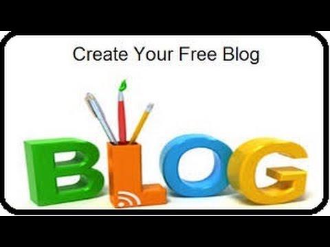 How To Create Blog Site (Blogger.com) Basic Intro - YouTube