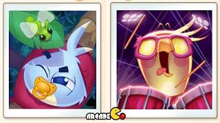 Angry Birds Stella: Beach Day Level 13 - 15 All 3 Stars Walkthrough