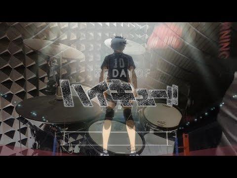 【ハイキュー!! OP1 Full】Haikyuu!! - SPYAIR 『イマジネーション』を叩いてみた - imagination - Drum Cover