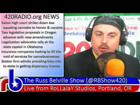 420RADIO News for Thursday, February 13, 2014