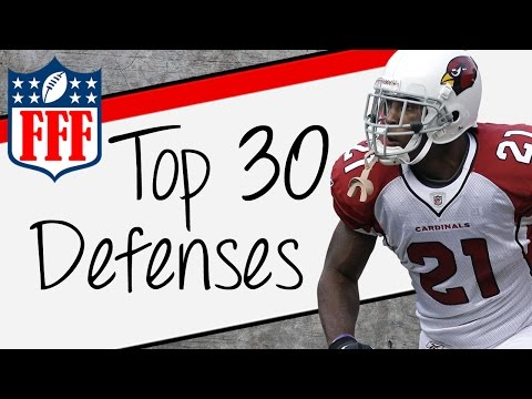 2015 Fantasy Football Top 30 Defense & Special Teams Rankings - FFF
