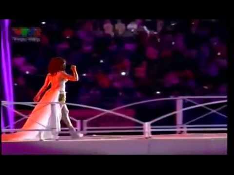 26th Sea Games 2011 | Closing Ceremony | Giring, Agnes Monica & Afgan: Kita Bisa (Theme Song #1)