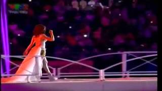 26th Sea Games 2011 | Closing Ceremony | Giring, Agnes Monica & Afgan: Kita Bisa (Theme Song #1)