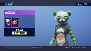 NEW SPOOKY TEAM LEADER SKIN IN FORTNITE BATTLE ROYALE