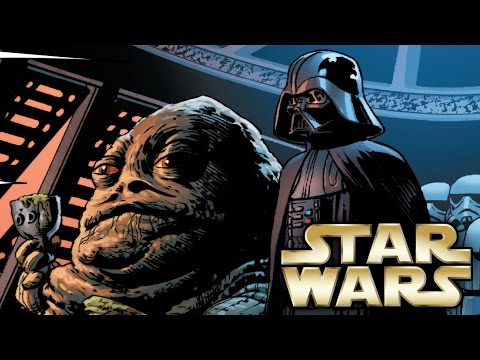 How Darth Vader Met and almost Killed Jabba the Hutt