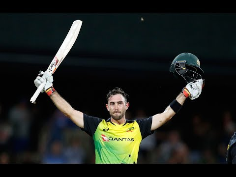 Lancashire sign Glenn Maxwell: Watch him in action