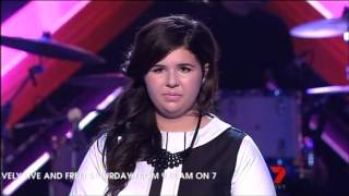 Shiane Hawke - Live Show 2 - The X Factor Australia 2012 - Top 11 [FULL]