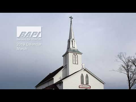 BAPI 2019 Calendar, March - Utica Lutheran Church