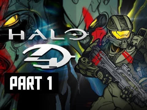 Halo 4 Walkthrough - Part 1 Campaign Prologue & Dawn Let's Play Gameplay Commentary