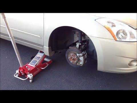 Wonderful Flat Right Front Tire Being Removed From 2010 Nissan Altima Sedan    AaronTheEagle1 Video