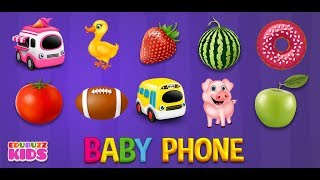 Baby Phone Game for Kids Free App from EduBuzzKids for Android Phones/Tablets!