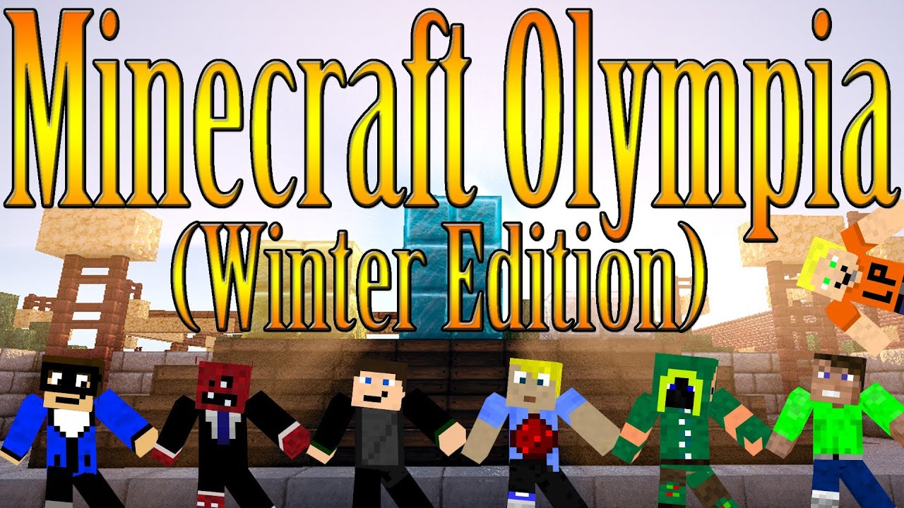 Minecraft Olympia Winter Edition DER PARQOUR YouTube - Minecraft olympische spiele server