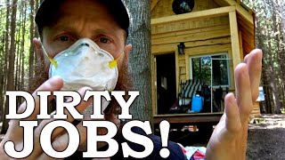 Off Grid Cabin Construction (Dirty Jobs)! | 'Leaving People Behind'