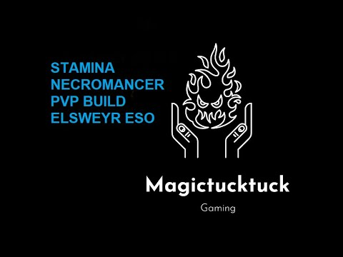 UPDATED Necromancer pvp build ESO Elsweyr