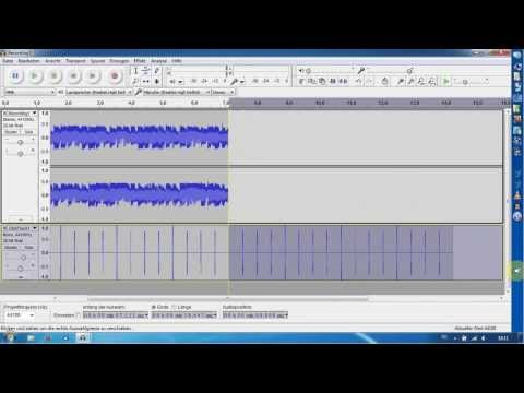 Loop mit Audacity (Free Audio Editing Software) erstellen