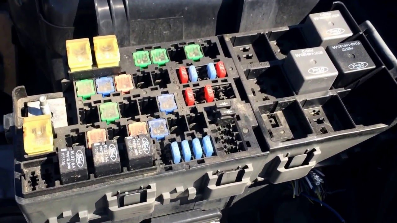 2009 mercury milan fuse box location - youtube ford mercury fuse box