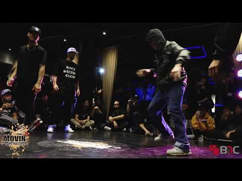 Y-Not/EZ Mike - Rocksteady Crew Vs Born/Physicx - Rivers Crew - Movin' Forward NYC - BNC