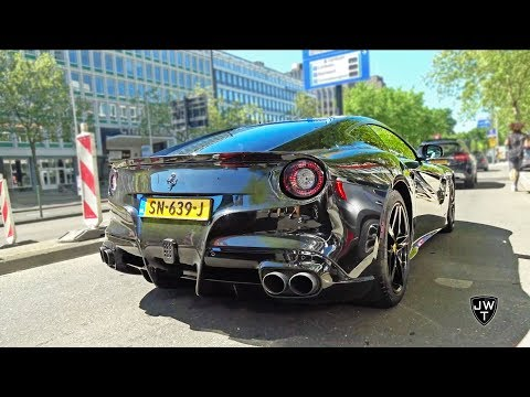 One Day of Carspotting in Rotterdam! - NOVITEC F12, GTC4 Lusso, AMG GT-R, M4 Carbon Edition & More!!