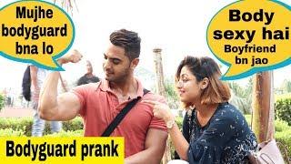 Mujhe bodyguard bna lo💪 || Paras thakral