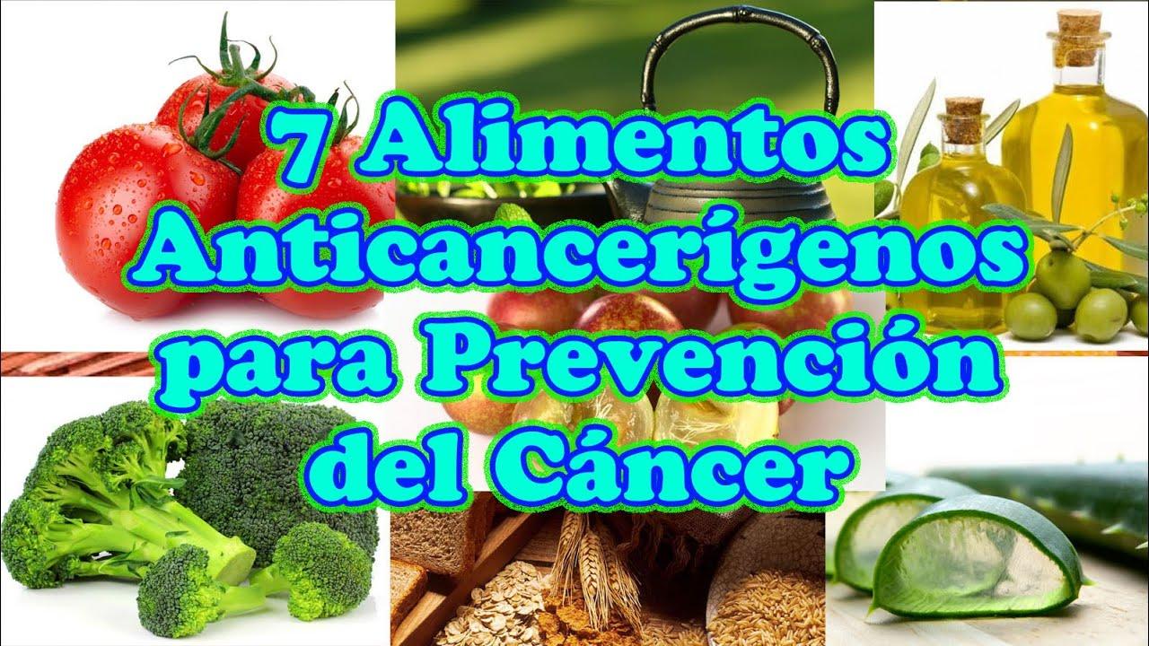 Alimentos que ayudan a combatir el cancer youtube - Alimentos previenen cancer ...