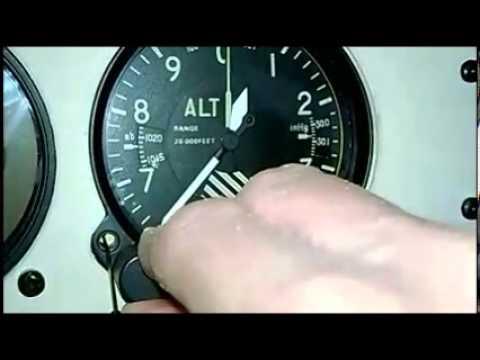 Kollsman Altimeter Calibration