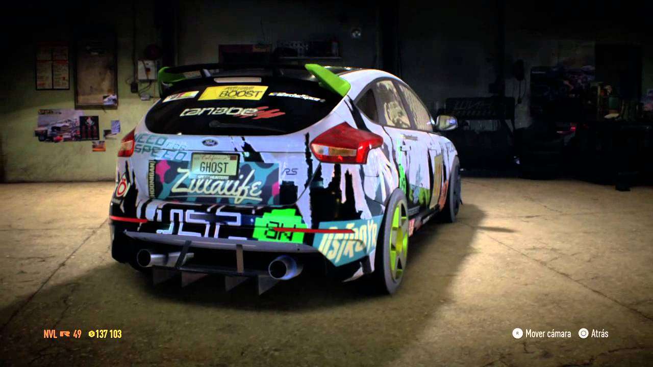 need for speed 2015 ford focus rs ken block style youtube. Black Bedroom Furniture Sets. Home Design Ideas
