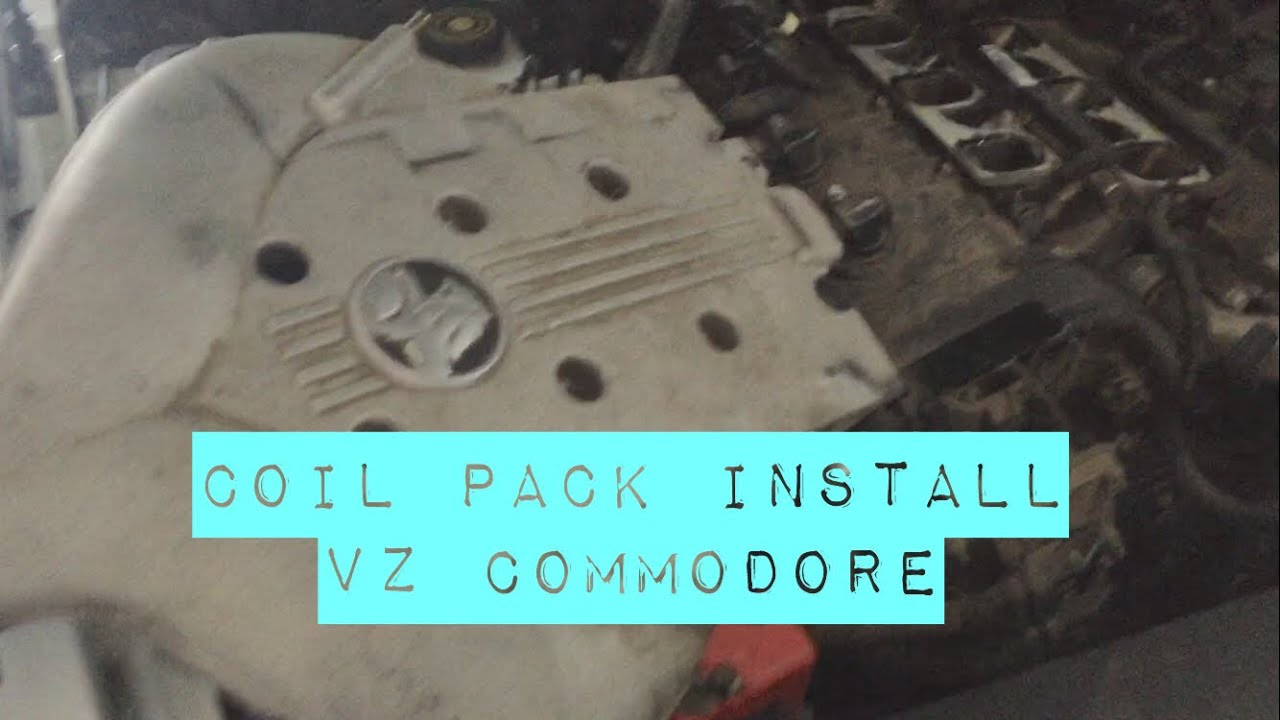 Have a POWERTRAIN ERROR? This could be the solution  (COIL PACK INSTALL)