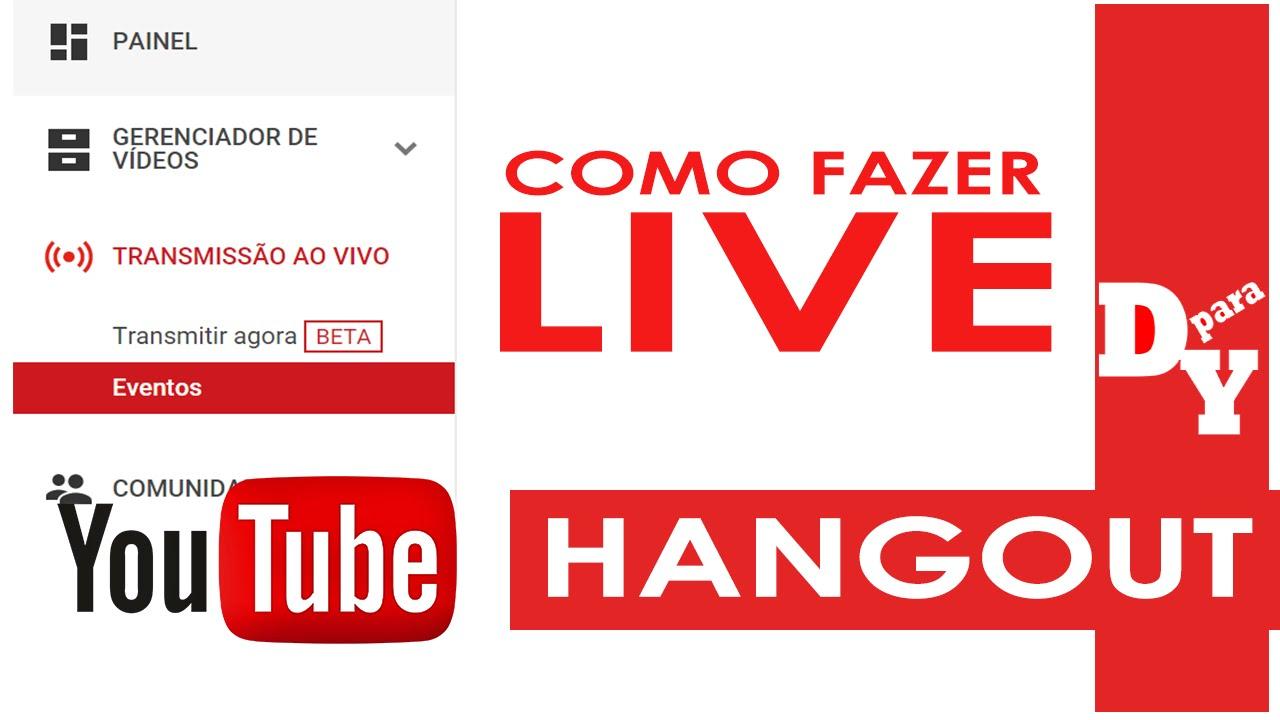 Como criar uma live no youtube pelo hangout iniciantes dicas para como criar uma live no youtube pelo hangout iniciantes dicas para youtubers youtube stopboris Images