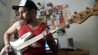 NOFX - The idiots are taking over - Bass cover