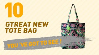 Vera Bradley Tote Bags, Top 10 Collection // New & Popular 2017