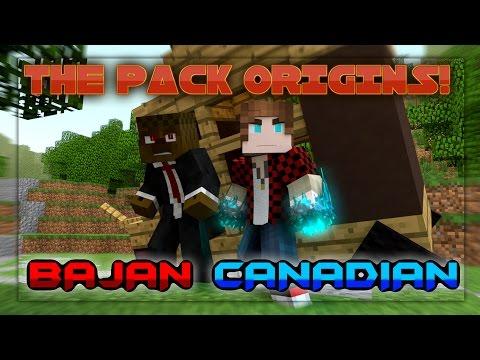 THE PACK ORIGINS #4| BajanCanadian | Minecraft Animation