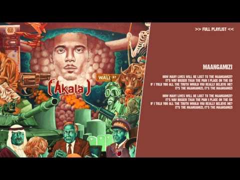 Akala - Maangamizi - ( lyric video )