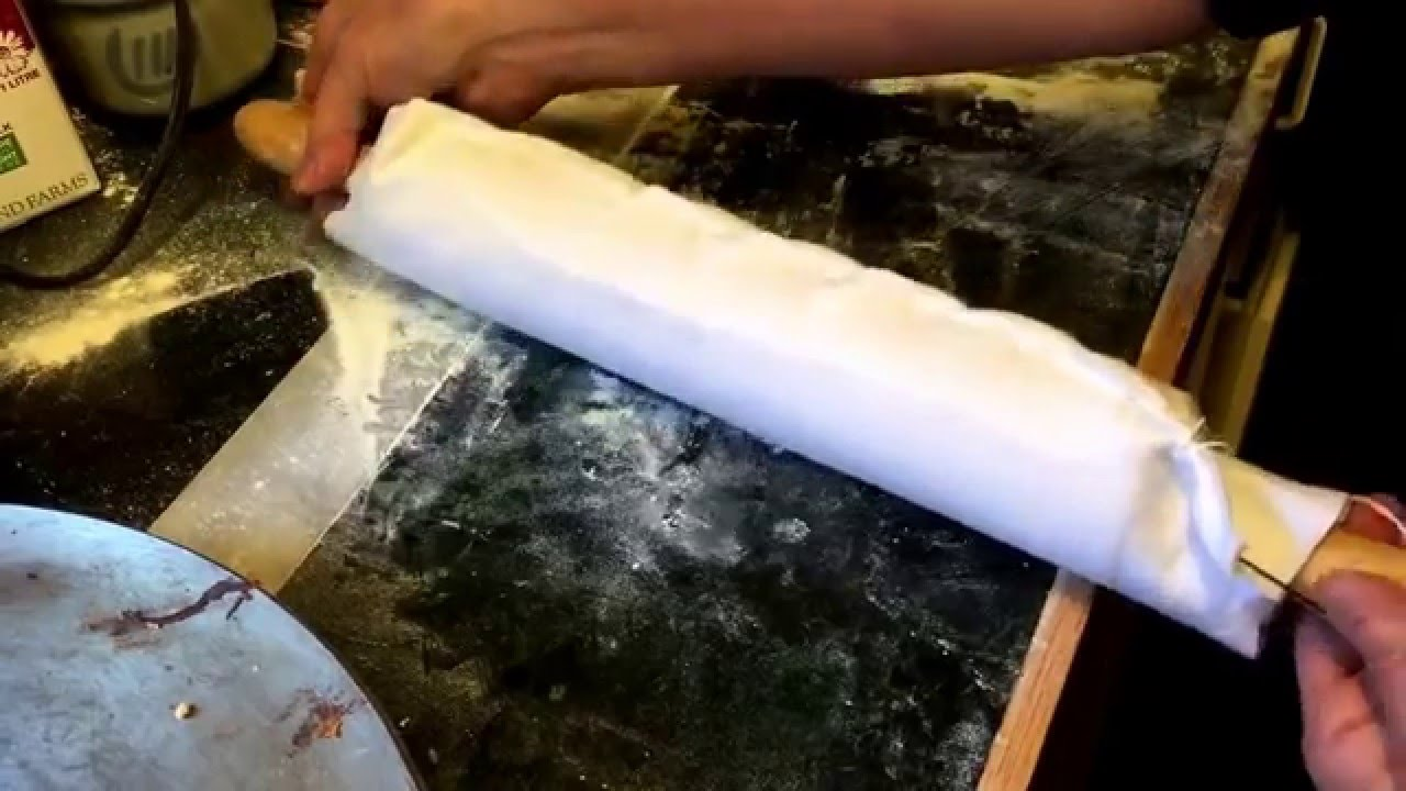 How To Make A Lefse Rolling Pin Diy Gingerbread Cottage Youtube