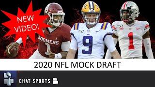 2020 NFL Mock Draft: 1st And 2nd Round Projections Ft. Joe Burrow, Jeffrey Okudah And Jalen Hurts