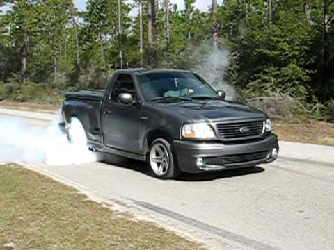 2004 ford lightning burnout youtube