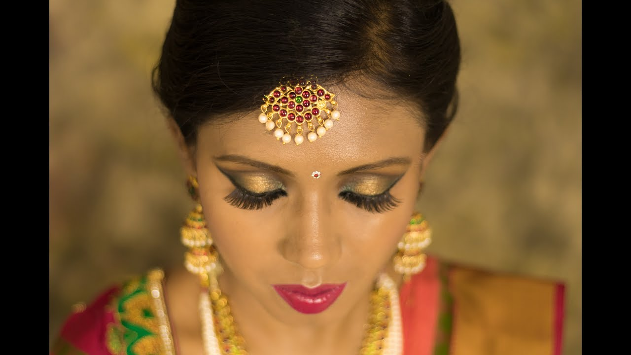 South Indian Bridal Makeup in HD | Medium Dark Skin