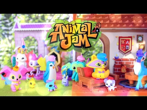 Toy Review:  Animal Jam Playsets