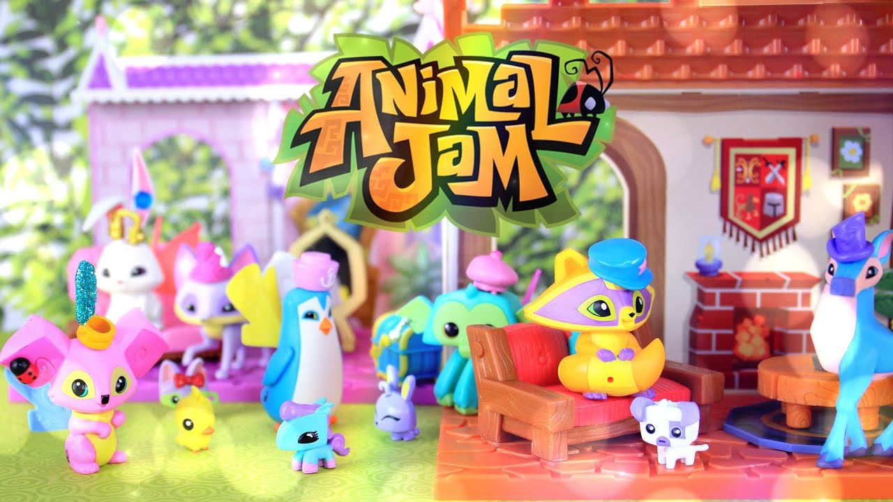 Toy Review: Animal Jam Playsets - BRAND NEW TOYS - YouTube