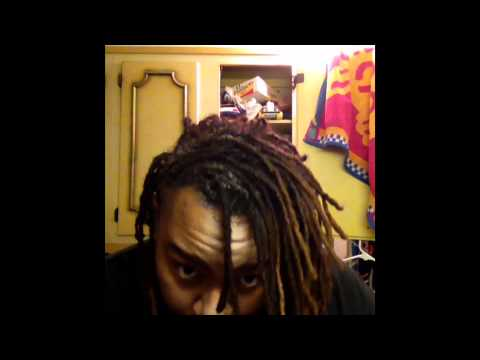 How To Dye Your Dreads Correctly Youtube