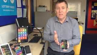 Accessible Android software for visually impaired people demonstration from Synapptic