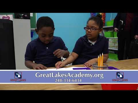 Great Lakes Academy of Pontiac, Michigan, chartered by Eastern Michigan University.
