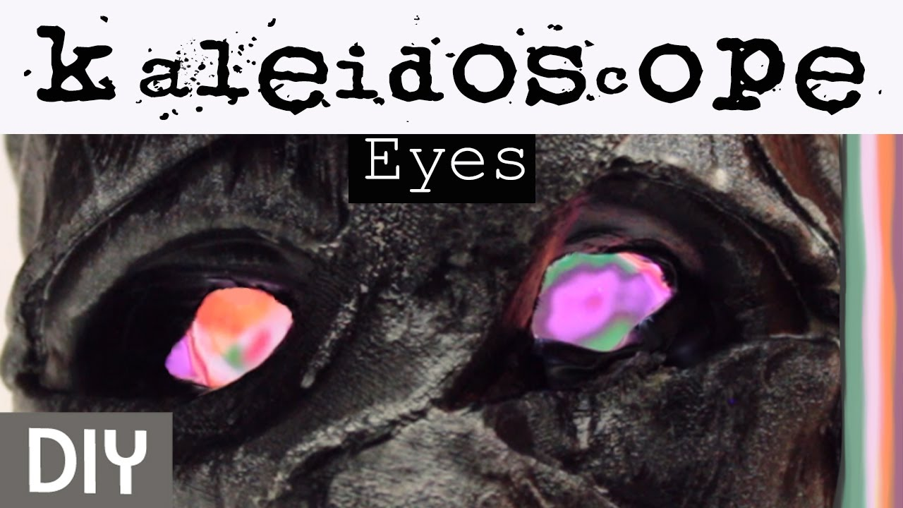 DIY Adding Glowing Eyes to Old Halloween Decorations