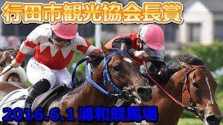 2016年6月1日浦和競馬第9レース 行田市観光協会長賞レース動画