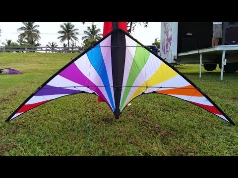iFLY2 Kite Jammin in Low Wind test