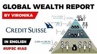 Credit Suisse releases Global Wealth Report 2019, What determines the wealth of a nation? #UPSC2020
