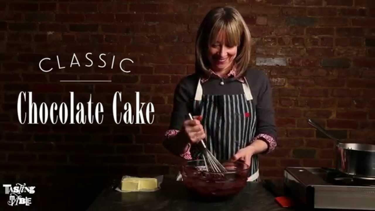 Emily Luchettis Classic Chocolate Layer Cake Cooking Tasting