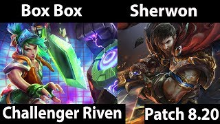 [ Box Box ] Riven vs Garen [ Sherwon ]  Top - Box Box Riven Stream