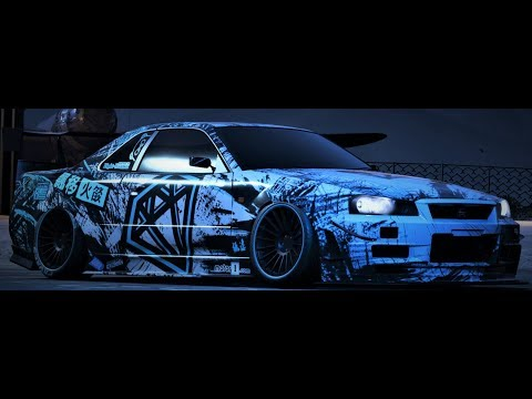 Nissan Skyline R34 GTR Speedpaint/Speedbuild - Need For Speed Payback
