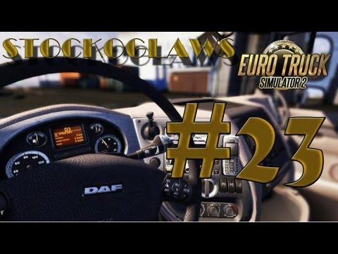 Lets Play Euro Truck Simulator 2 - Ep 23 (Off to  Bratislava !)